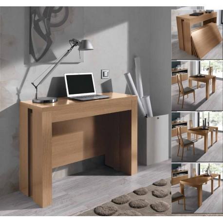 Ba os un hogar con mucho oficio - Comoda mesa extensible ...