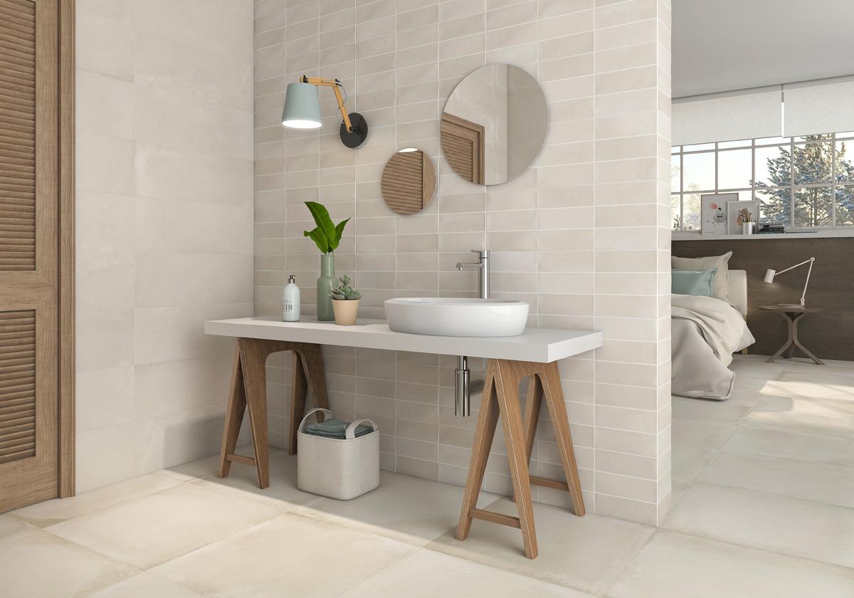 ideas de baño marrón y crema 5 Trucos E Ideas Para Elegir Los Azulejos De Tu Bao