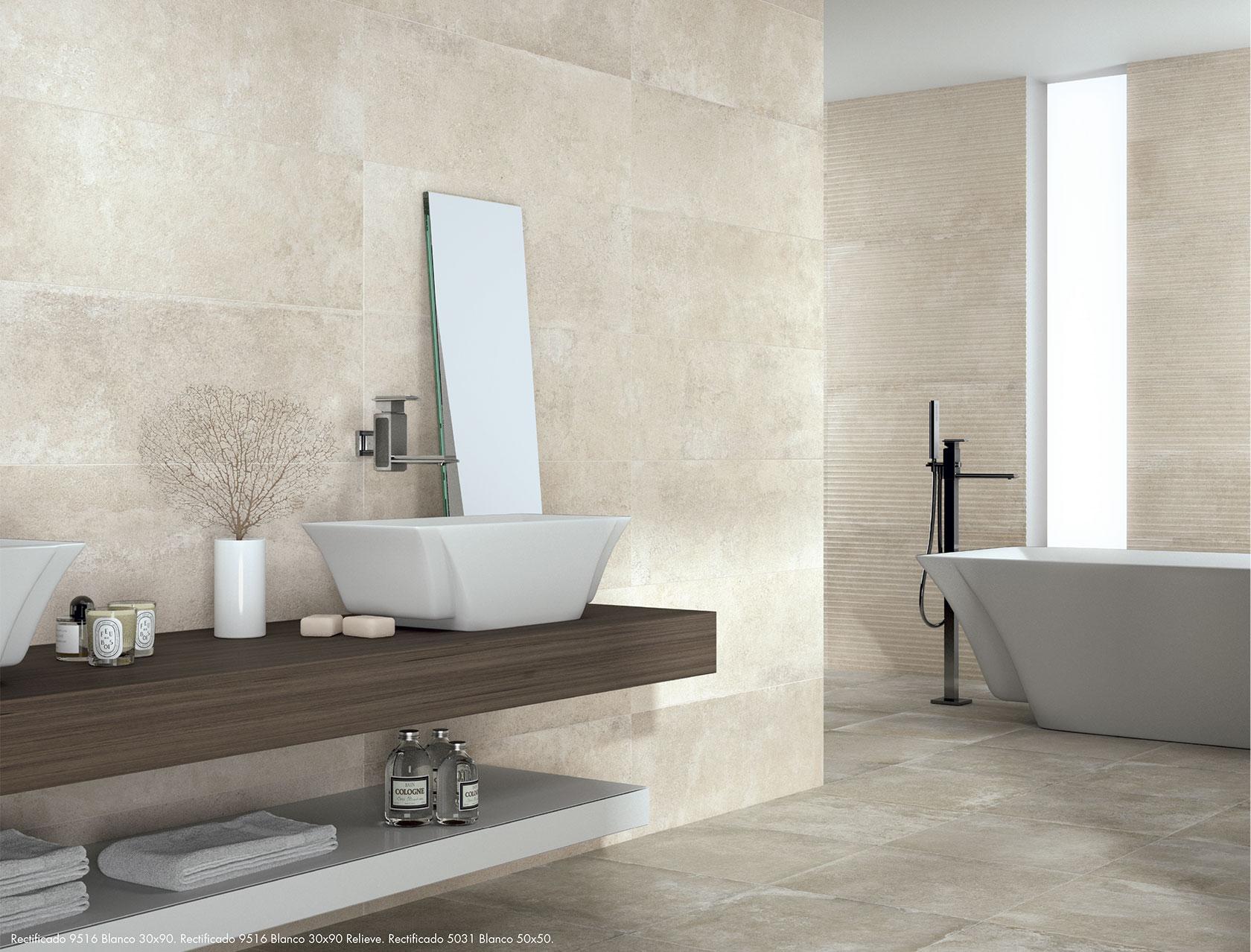 Un hogar con mucho oficio - Azulejos cuarto de bano ...