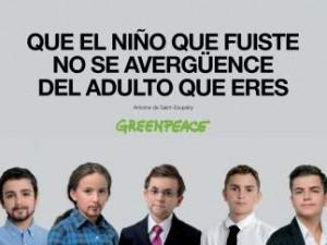 Pre-Campaña electoral Greenpeace