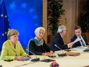 Una cumbre de líderes europeos.