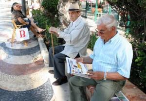 Un grupo de jubilados (Archivo)