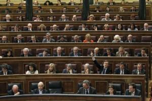 Pleno en el Congreso de los Diputados (EFE).