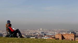 Madrid, con su 'boina' de polución (Jorge París).