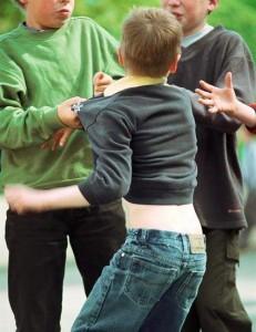 Pelea entre varios chicos en el colegio (GTRES).