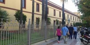 Fachada de la Diputación Provincial de Sevilla (M. Conde).