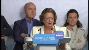 La ex alcaldesa de Valencia, Rita Barberá (Atlas).