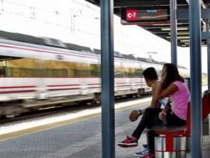 Estación de Cercanías Madrid.