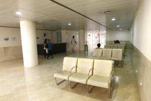 Sala de espera del Hospital Gregorio Marañón de Madrid (Jorge París).
