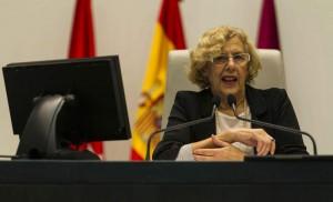 La alcaldesa de Madrid, Manuela Carmena (Gtres).