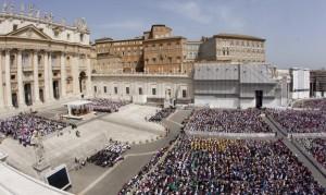 Plaza de San Pedro, en el Vaticano (Claudio Peri/EFE).