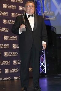 Gaspar Rosety, en la entrega de los premios Antena de Oro 2013 (Gtres).