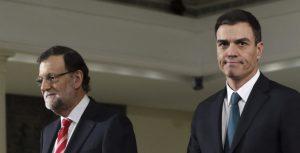 Mariano Rajoy y Pedro Sánchez (EFE).