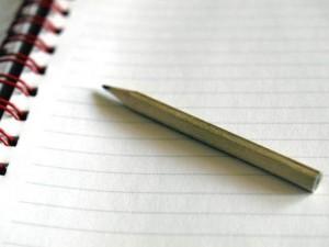 Lápiz y papel (Archivo).