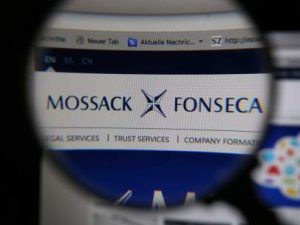 Logo del bufete de abogados panameño Mossack Fonseca, el origen de las filtraciones de los 'papeles de Panamá'. (GTRES)