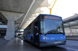 Imagen de un autobús de la EMT (Jorge París).