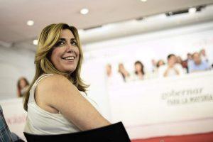 La presidenta de la Junta de Andalucía, Susana Díaz (Gtres).