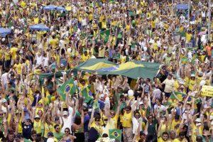Protestas en Brasil (EFE).