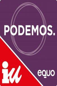 Logo de la coalición Unidos Podemos (Unidos Podemos).