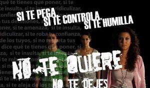 Imagen de una campaña contra la violencia de género (Archivo).