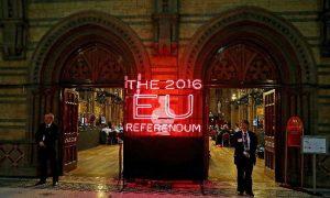 Recuento del brexit (EFE).