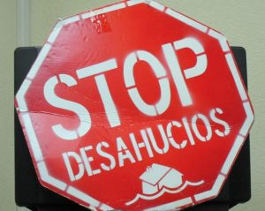 Stop desahucios (Europa Press).