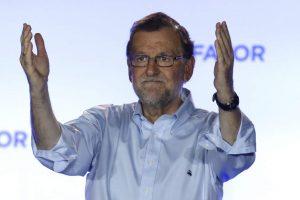 El líder el PP, Mariano Rajoy, tras conocer los resultados del pasado 26-J (Javier Lizón/EFE).
