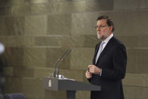Mariano Rajoy en Moncloa (Europa Press).