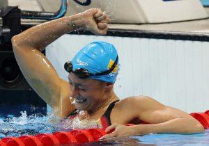 Mireia Belmonte gana la medalla de oro en los 200 mariposa (GTRESONLINE).