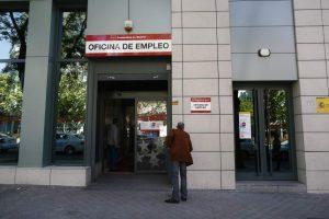La oficina del INEM (EUROPA PRESS).
