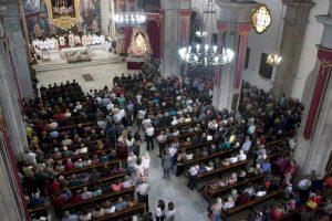 Misa en la Basílica de Candelaria (CEDIDA).