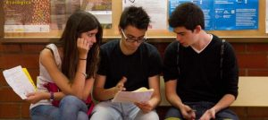 Estudiantes de bachillerato (EFE).