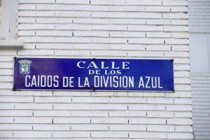 Madrid, sin placas del franquismo (Zipi/EFE).