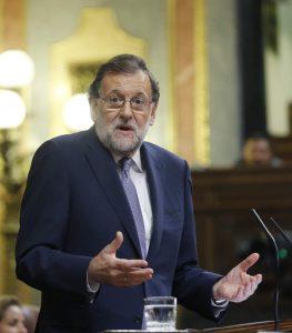 Mariano Rajoy en el debate de investidura (EFE).