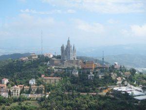 El Tibidabo De Barcelona, en la Sierra De Collserola (Europa Press).