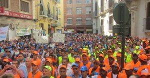 Imagen de una protesta (Europa Press).