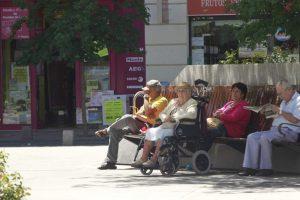 Pensionistas (Europa Press).