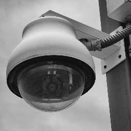 Cámara de vigilancia (Archivo).