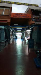 Mercado de Castelldefels.