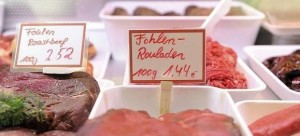 Venta de carne de caballo en Alemania