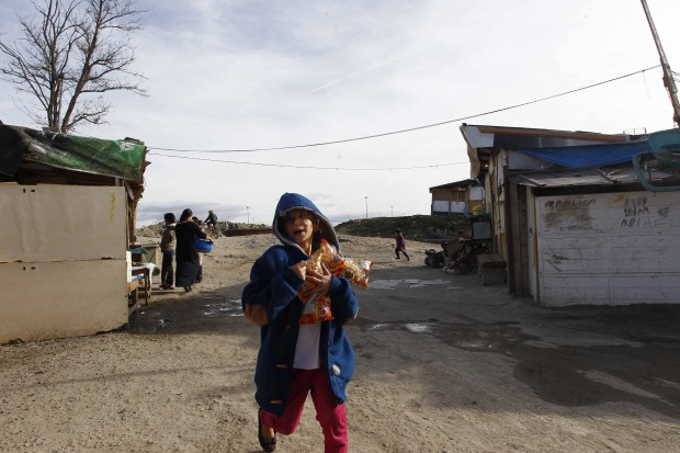 Niño en El Gallinero