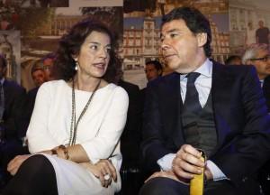 Ana Botella e Ignacio González