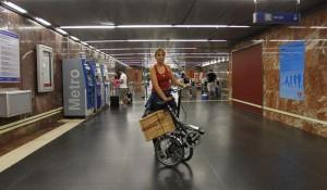 Bici en el Metro
