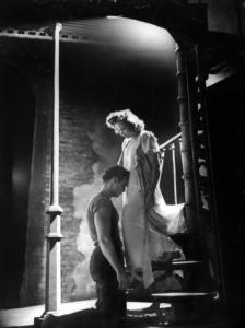 """Marlon Brando y Vivian Leigh en """"Un tranvía llamado deseo"""" (1951)"""