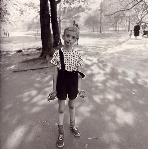 "Diane Arbus - ""Child with Toy Hand Grenade in Central Park"", New York City, 1962"