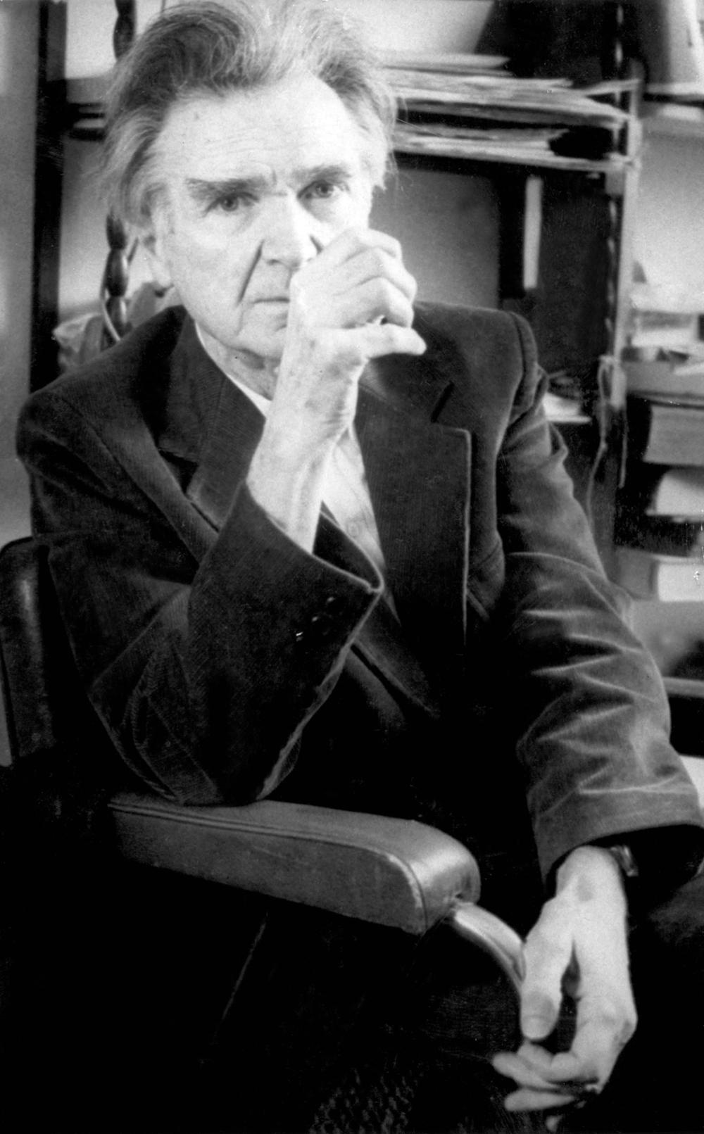 Emile Cioran (1911- 1995) Foto: Editions del'Herneok