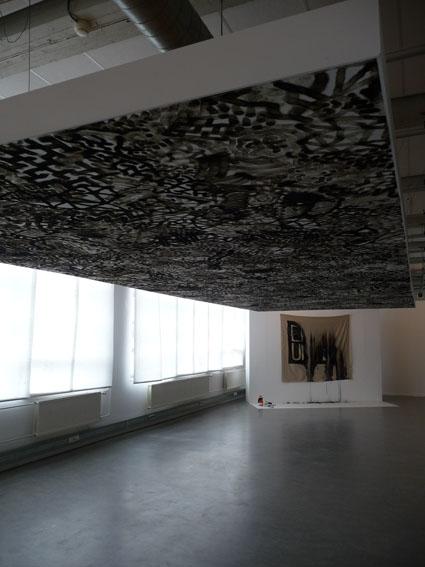 Obra de Olivier Kosta-Théfane en la Fundación Cartier de París