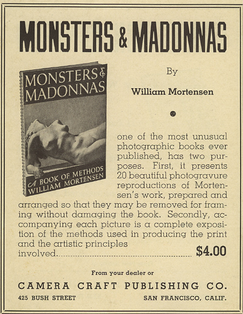 "Anuncio publicatio de ""Monsters & Madonnas"""