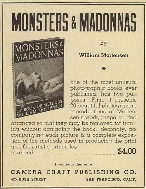 """Anuncio publicatio de """"Monsters & Madonnas"""""""