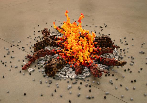 '8 bit campfire' - Shawn Smith
